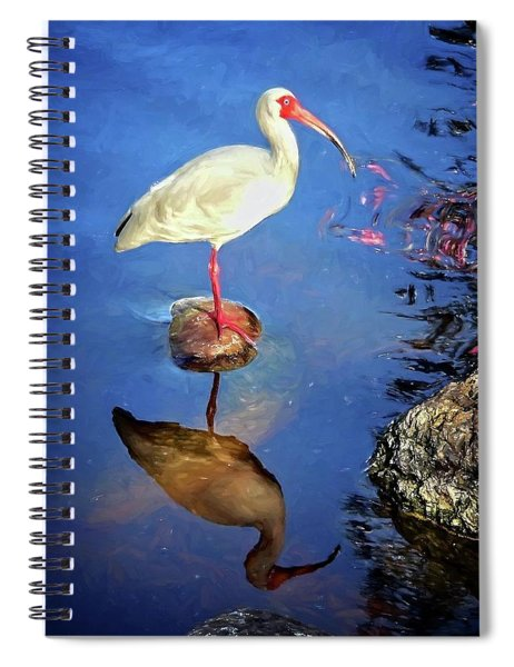 Ibis Reflections Spiral Notebook