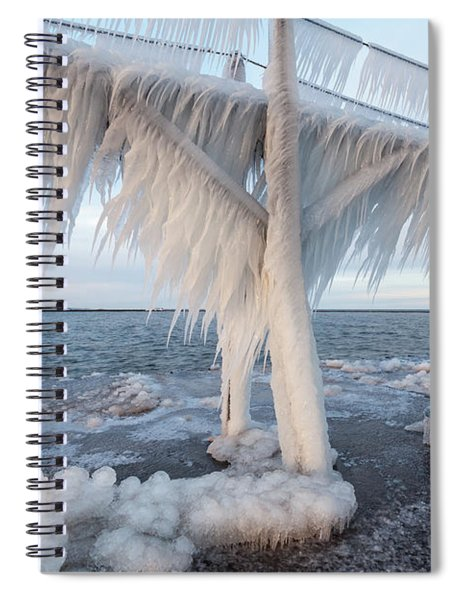 Iced Over Spiral Notebook