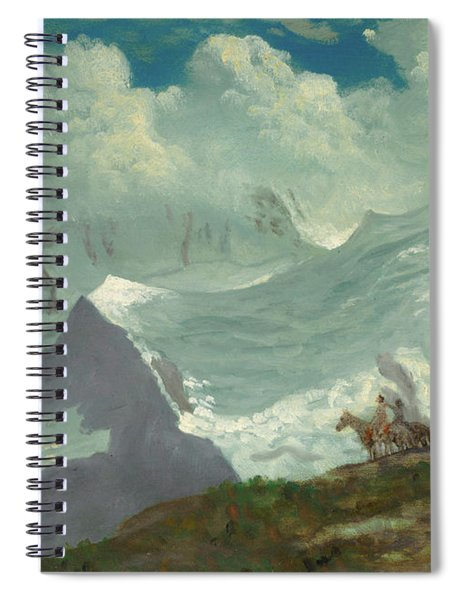 In The Rockies Spiral Notebook
