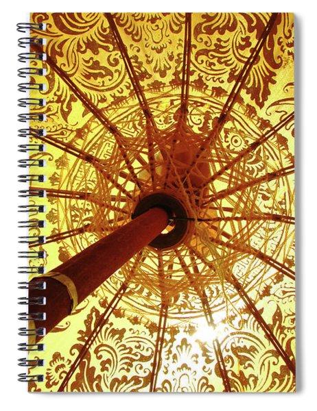 Indian Summer Spiral Notebook