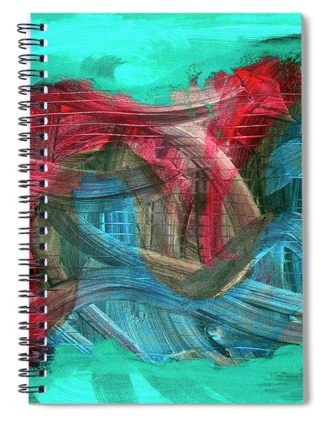 Inner Turmoil  Spiral Notebook
