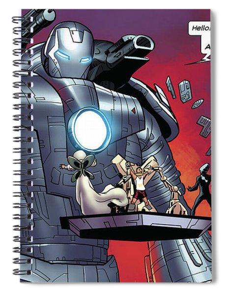Iron Man Spiral Notebook