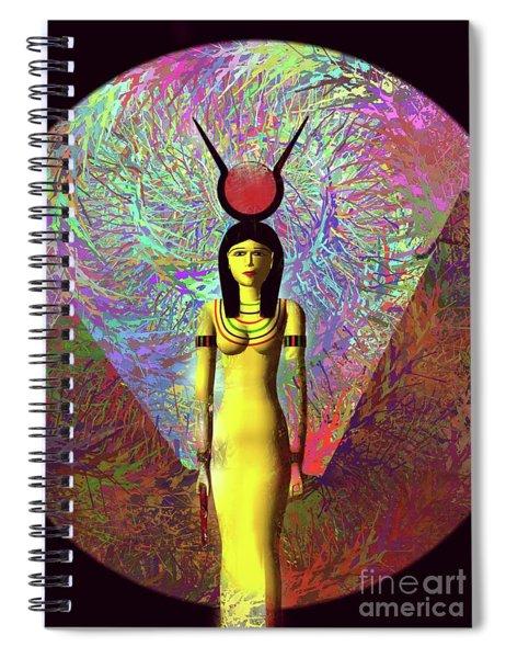 Isis, Goddess Of Egypt Spiral Notebook