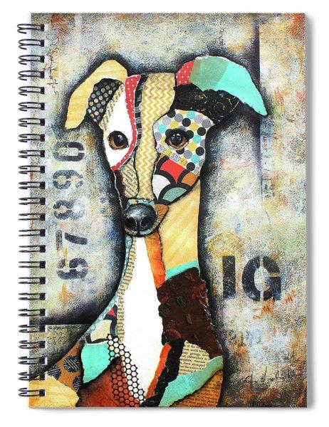 Italian Greyhound Spiral Notebook