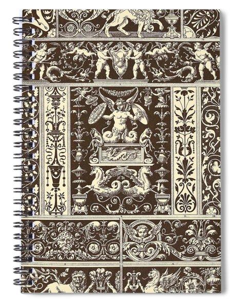 Italian Renaissance Spiral Notebook