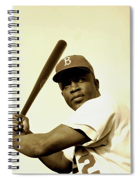 Jackie Robinson 1952 Spiral Notebook
