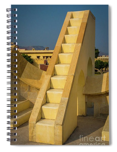 Jantar Mantar Spiral Notebook by Inge Johnsson