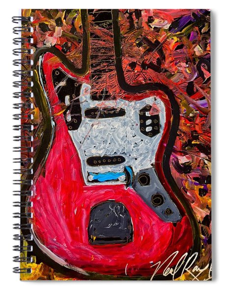 Jazz Master 5 Spiral Notebook