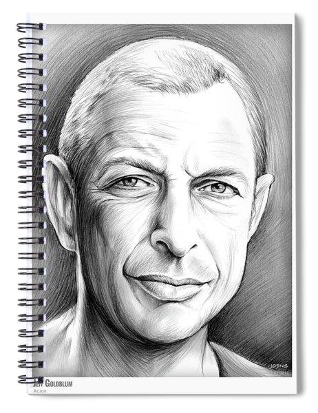 Jeff Goldblum Spiral Notebook