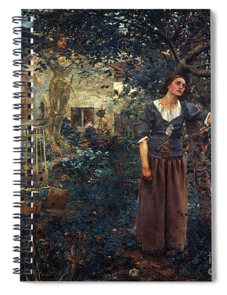 Joan Of Arc C1412-1431 Spiral Notebook