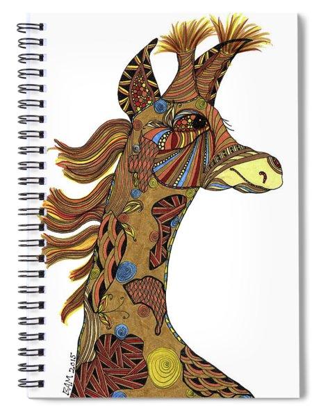 Josi Giraffe Spiral Notebook