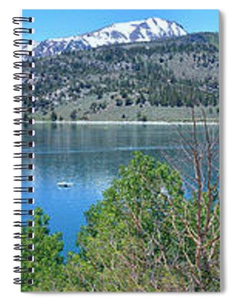 June Lake Panorama Spiral Notebook