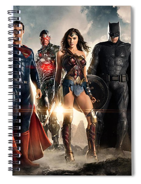 Justice League 2017 Spiral Notebook