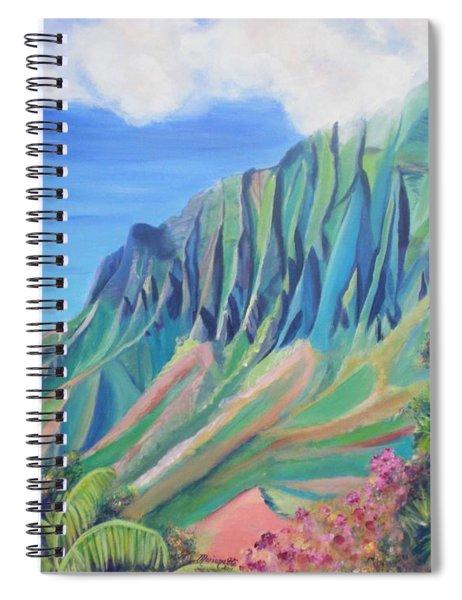 Kalalau Valley Spiral Notebook
