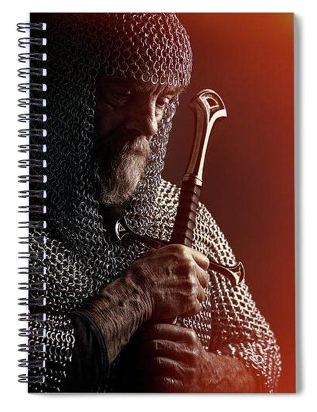 Knight Spiral Notebook