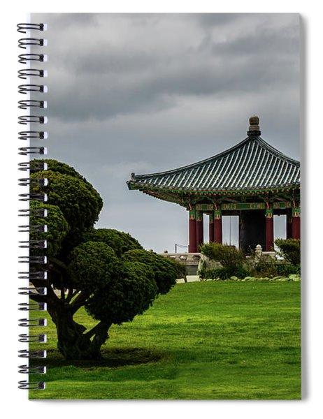 Korean Bell Of Friendship Spiral Notebook