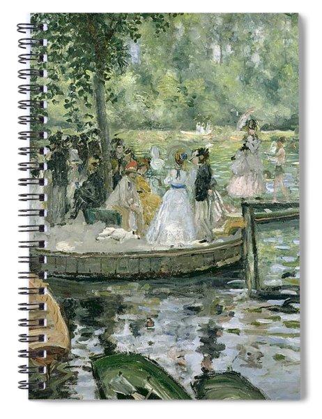 La Grenouillere Spiral Notebook