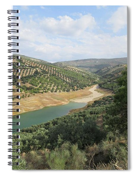 Lake Near Iznajar Spiral Notebook