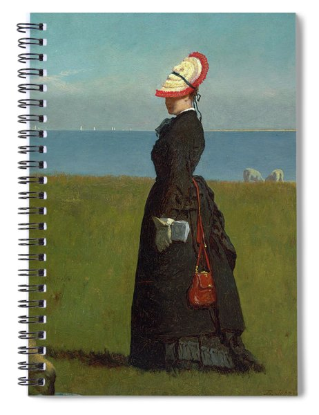 Lambs Nantucket Spiral Notebook