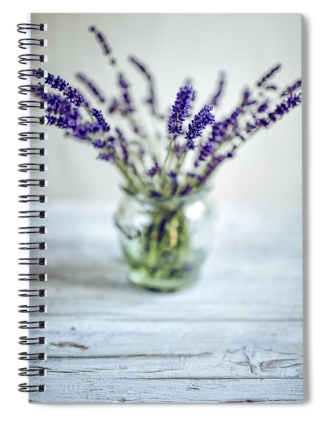 Lavender Still Life Spiral Notebook