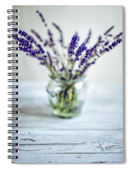 Lavender Still Life Spiral Notebook