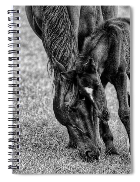 Lean On Me  Spiral Notebook