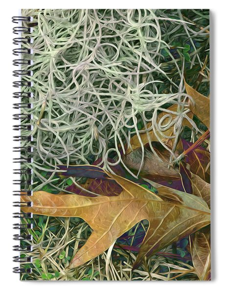 Leaves And Tendrils Spiral Notebook