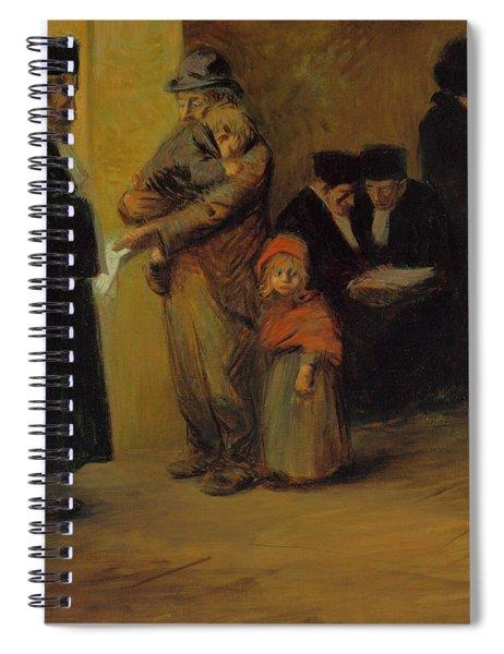 Legal Assistance Spiral Notebook