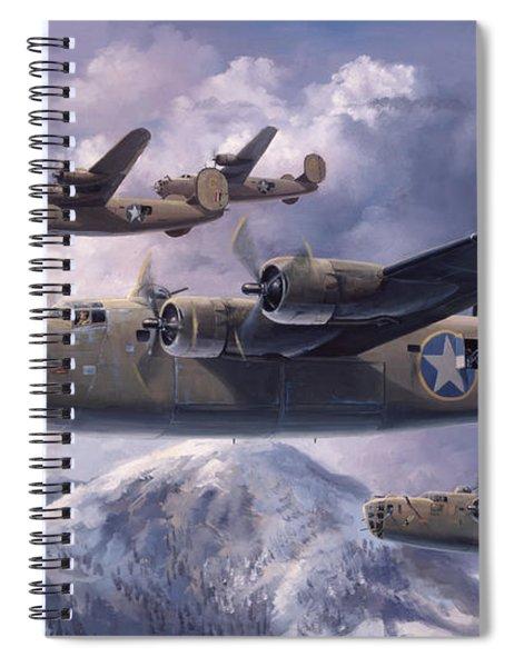 Legends Of The 93rd  Spiral Notebook