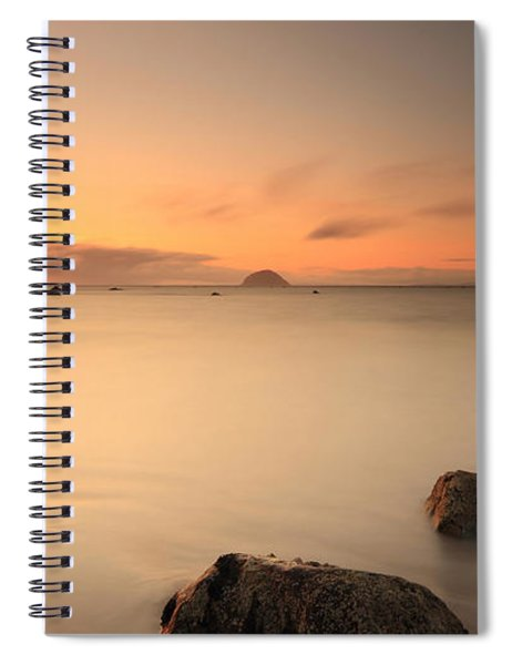 Lendalfoot Sunset Spiral Notebook