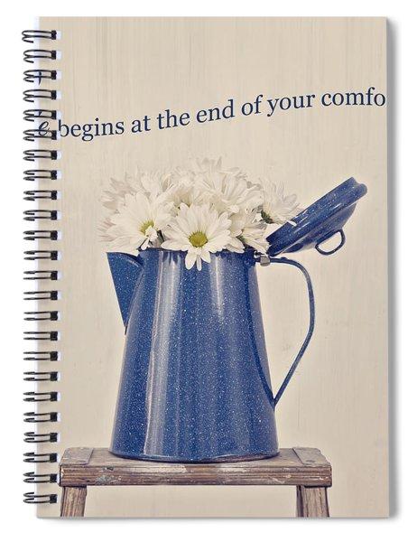 Comfort Zone Spiral Notebook