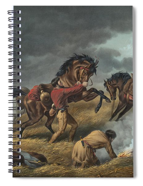 Life On The Prairie Spiral Notebook