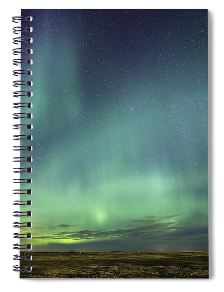 Lights And Motion Spiral Notebook
