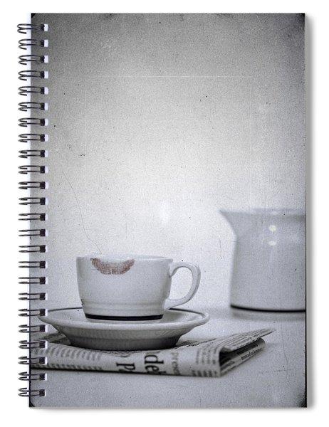 Lip Marks Spiral Notebook