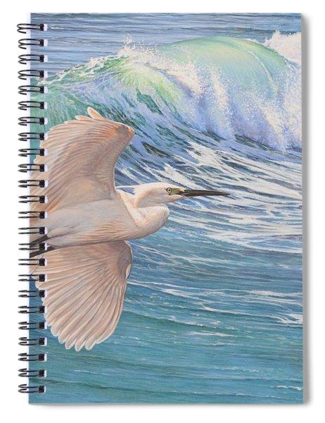 Little Egret Spiral Notebook