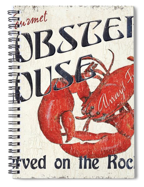 Lobster House Spiral Notebook
