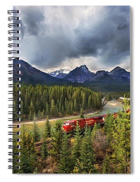 Long Train Running Spiral Notebook