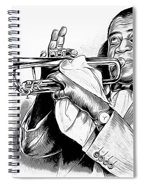 Louis Armstrong Spiral Notebook