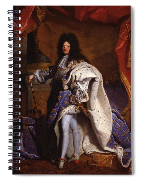 Louis Xiv, King Of France  Spiral Notebook