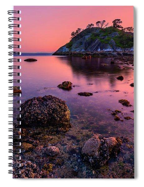 Low Tide  Spiral Notebook
