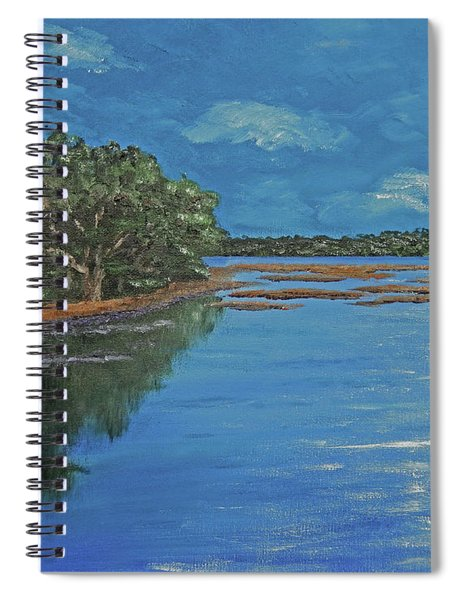 Lowcountry Moon Spiral Notebook