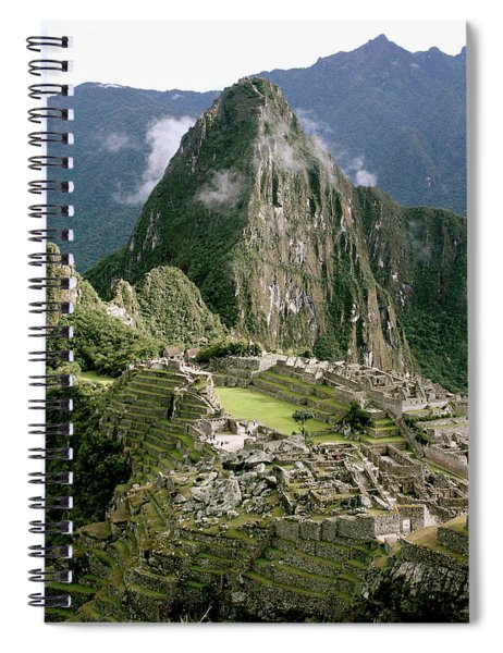 Machu Picchu At Sunrise Spiral Notebook
