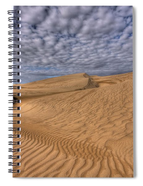 Magic Of The Dunes Spiral Notebook