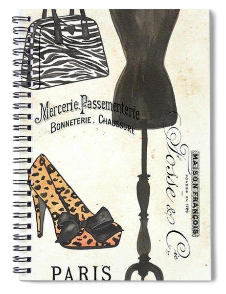 Maison De Mode 1 Spiral Notebook