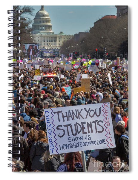 March For Our Lives Spiral Notebook