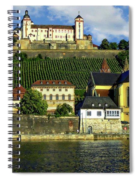 Marienberg Fortress Spiral Notebook