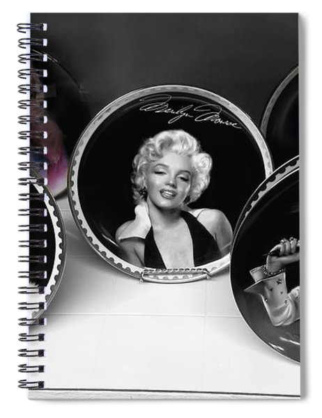 Marilyn And Elvis Spiral Notebook