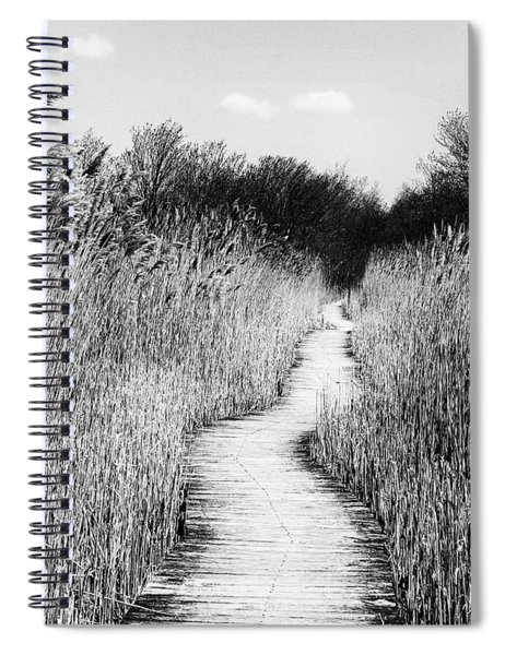 Marsh Loop Plum Island    Spiral Notebook
