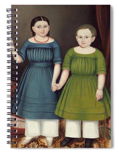 Mary And Francis Wilcox Spiral Notebook