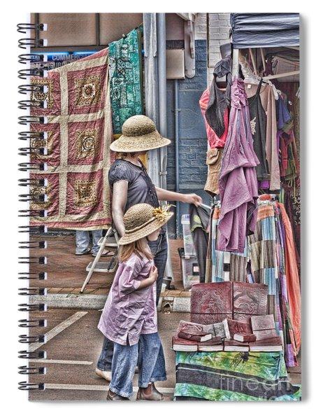 Matching Hats Spiral Notebook